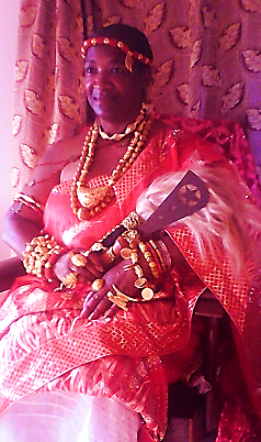 Mrs. Teresa R Kemp became a Queen Mother of  Mankessim Traditional Area Central Region Ghana Africa at the Borbor Mfantse Amanse Afahye (Festival).