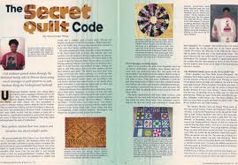The Secret Quilt Code, articles written by Serena Strother Wilson.