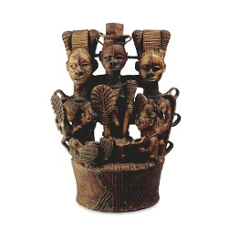 Igbo metal art