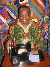 Mildred H. Washington, Master Quilter, President of Quilters for Christ in Columbus Ohio