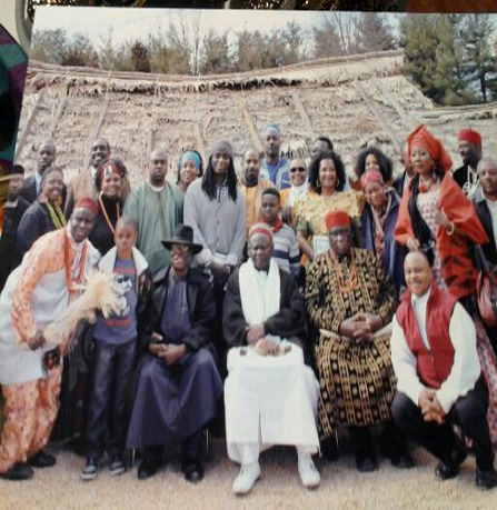 Naming Ceremony at World Igbo Assembly Conference at the Frontier Museum in Staunton, VA March 2o14
