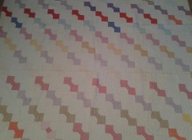Great Grandma's Bow Tie Quilt